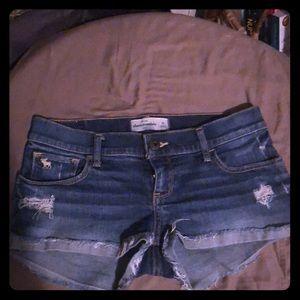 Jean shorts girls 16